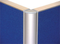 Velcro Screen Two-Way Corner Post