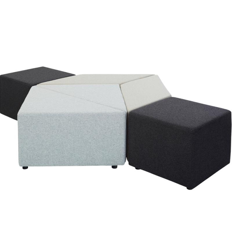 Triangle Small 450mmh Eightby4 Ottomans Office